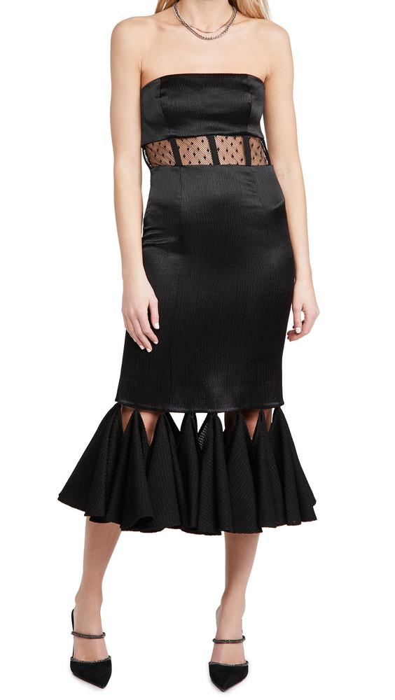 Alexis Verbena Dress in black