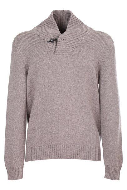 Fay Sweater in beige / beige