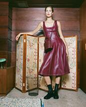 dress,bag