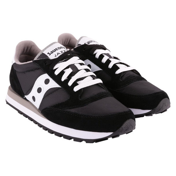 Saucony Jazz Original Suede Sneakers in black / white