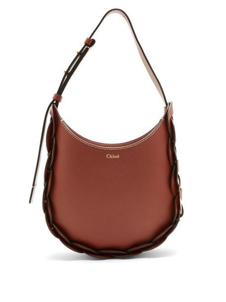 Chloé Chloé - Darryl Small Leather Shoulder Bag - Womens - Brown