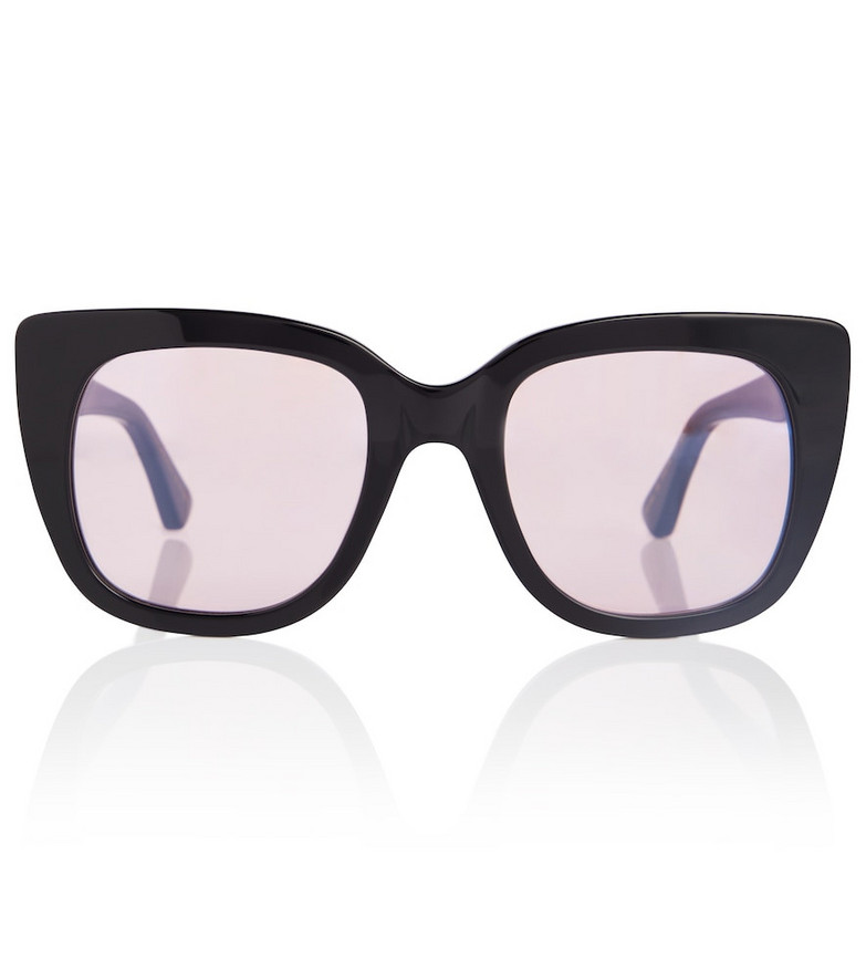 Gucci Exclusive to Mytheresa – Acetate sunglasses with blue light protection in black