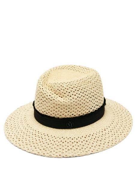 Maison Michel - Virginie Straw Hat - Womens - White