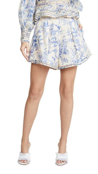 Zimmermann Verity High Waist Shorts