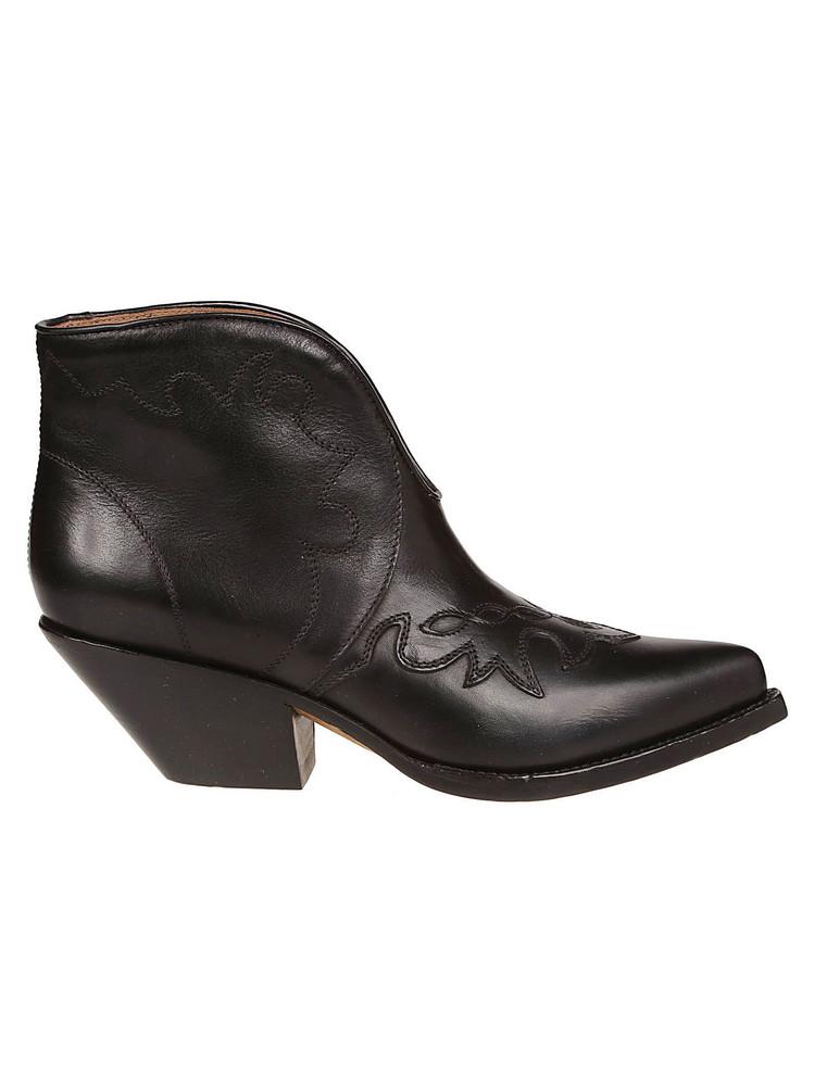 Buttero Durango Ankle Boots in nero
