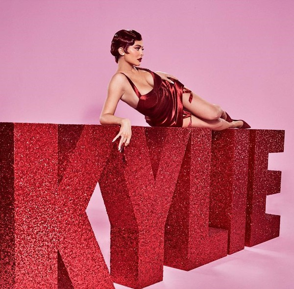 top sexy sexy lingerie kylie jenner kardashians red edgy editorial