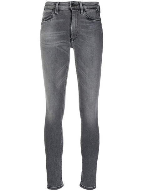 Dondup mid-rise skinny jeans in grey
