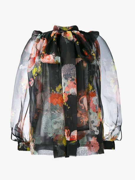 Dries Van Noten Coady floral print blouse