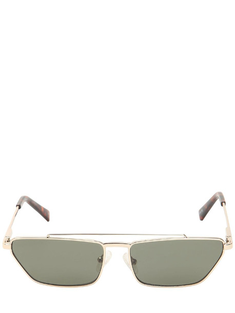 LE SPECS Electricool Metal Sunglasses in gold / green