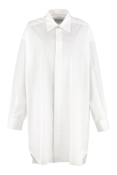 Maison Margiela Oversize Shirt in white