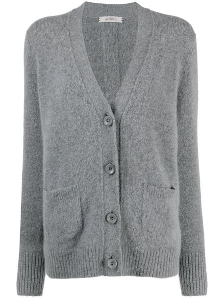 Dorothee Schumacher V-neck cardigan in grey