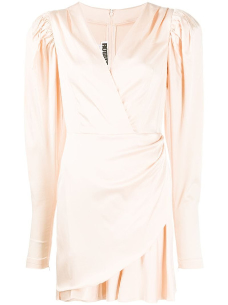 ROTATE puff sleeved dress in pink