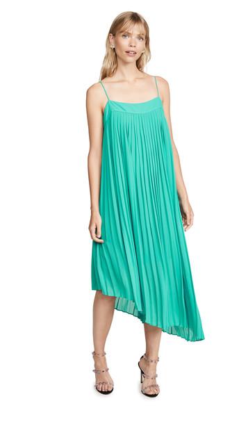 Line & Dot Bettina Dress in green