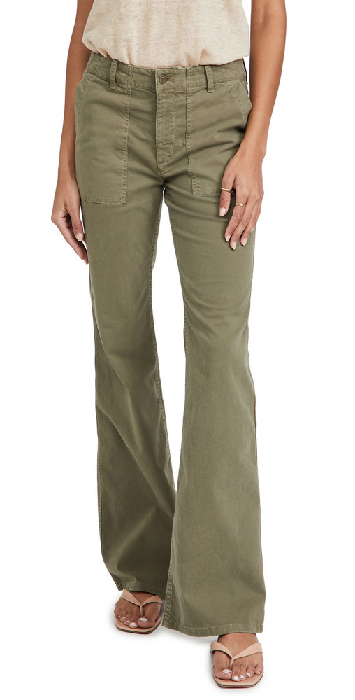Nili Lotan Malibu Pants in green
