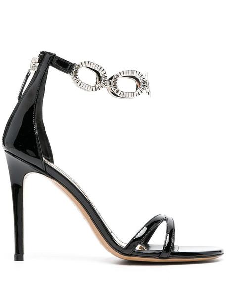 Alexandre Vauthier Bella chain-link sandals in black