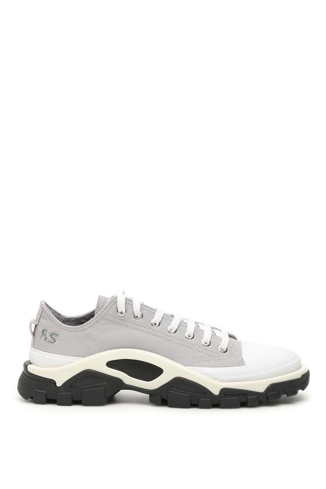Adidas By Raf Simons Unisex Rs Detroit Runner Sneakers in grey