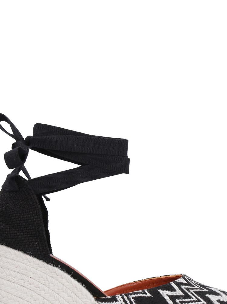 Castañer Castaner X Missoni Carina Wedges in black