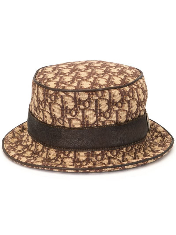 Christian Dior pre-owned Trotter bucket hat in brown