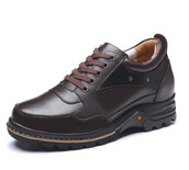 shoes,casual height increasing leather shoes