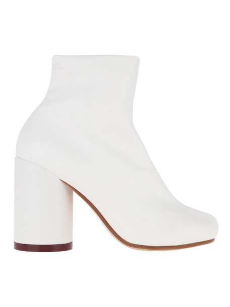 MM6 Maison Margiela Mm6 Ankle Boots in white