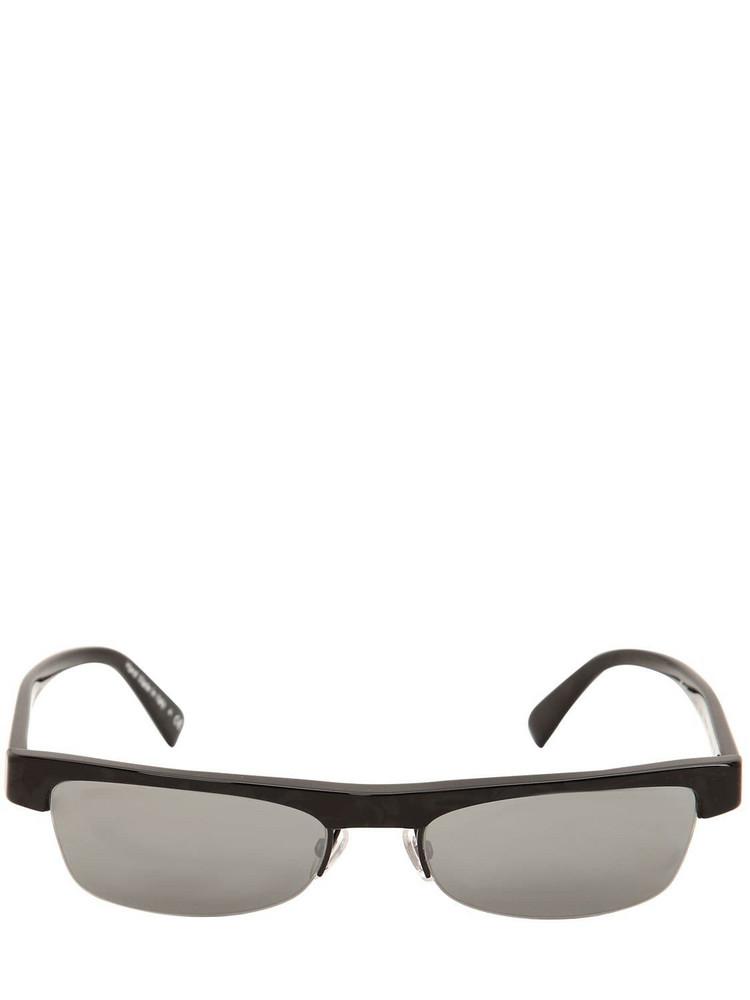 ALAIN MIKLI & ALEXANDRE VAUTHIER Ketti Acetate Sunglasses in noir