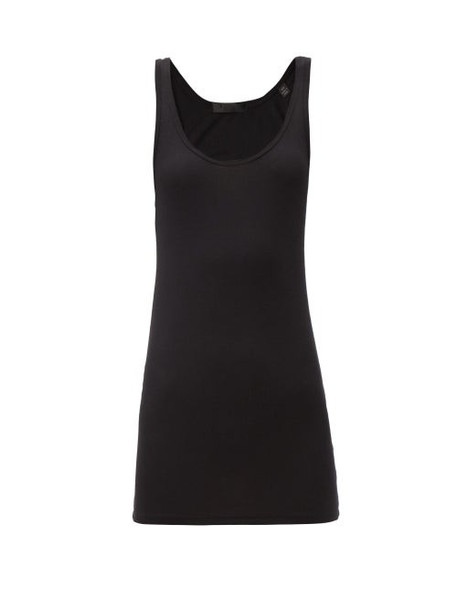 ATM - Racerback Micromodal-blend Jersey Tank Top - Womens - Black
