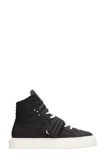 Gienchi Black Rubber Hypnos Sneakers