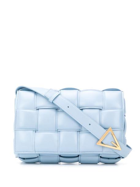Bottega Veneta Padded Cassette crossbody bag in blue