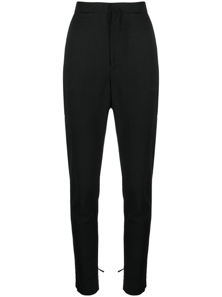 Isabel Marant tie-cuff trousers in black