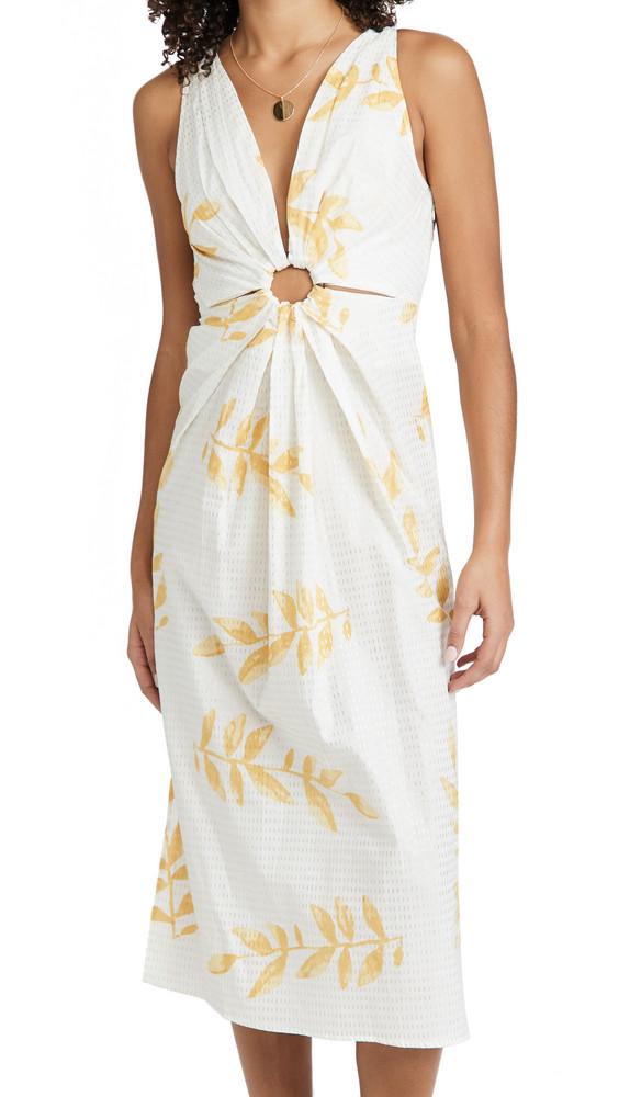 SUNDRESS Yuma Dress in gold
