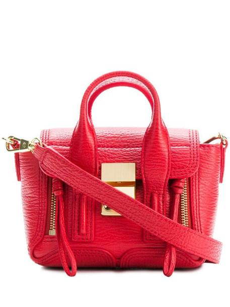 3.1 Phillip Lim Pashli nano satchel in red