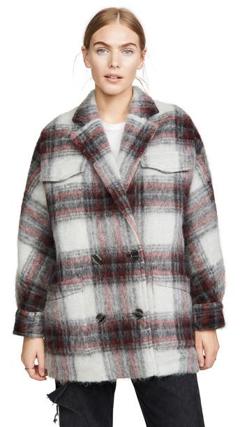 IRO Iro Experience Nashville Mohair Jacket in grey