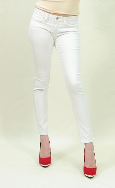 Calvin Klein 205W39NYC Printed denim jacket in white
