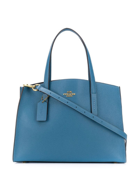 Coach Charlie Carryall tote bag in blue