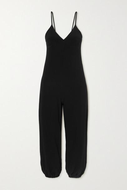NORMA KAMALI - Stretch-jersey Jumpsuit - Black