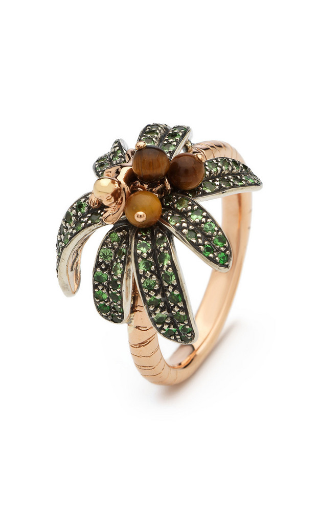 Bibi van der Velden Monkey Palm Ring Size: 6 in gold
