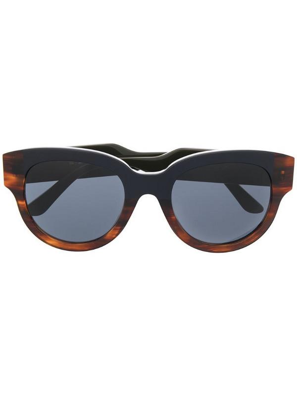 Marni Eyewear oversize-frame tortoiseshell sunglasses in green