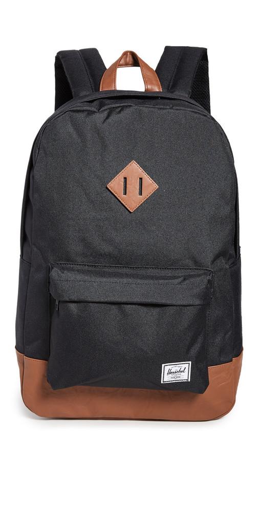 Herschel Supply Co. Herschel Supply Co. Heritage Backpack in black / tan