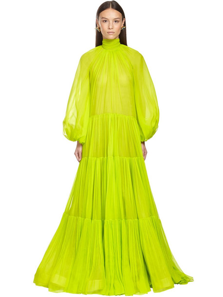 VALENTINO Ruffled Georgette Long Dress