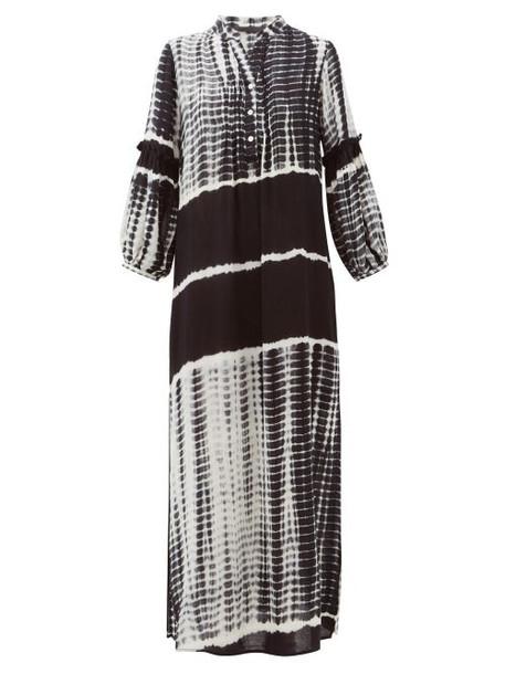 Love Binetti - Good Vibrations Tie-dye Cotton Tunic - Womens - Black White