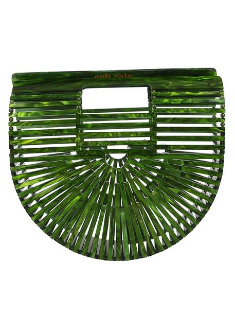Cult Gaia Ark Clutch in green
