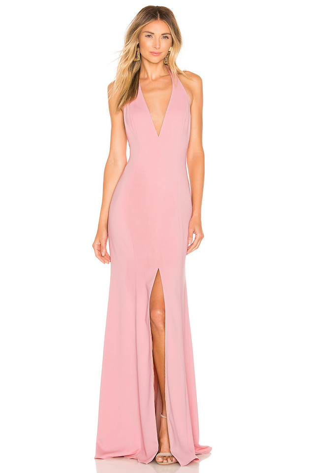Jay Godfrey Lena Gown in pink