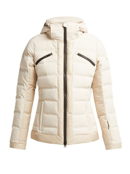Capranea - Gem Quilted Ski Jacket - Womens - Light Grey
