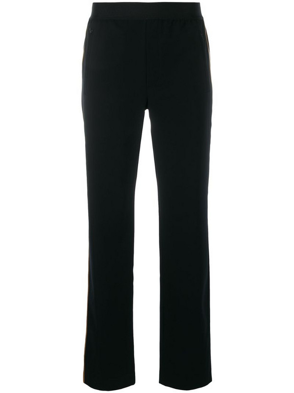 Filippa K Soft Sport straight-leg track trousers in black