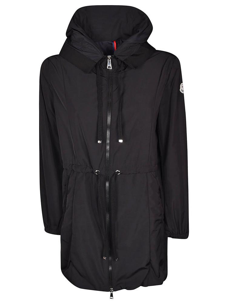 Moncler Zipped Coat in black