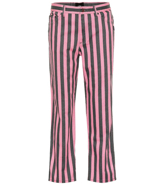 Marc Jacobs St. Mark's mid-rise straight jeans in pink