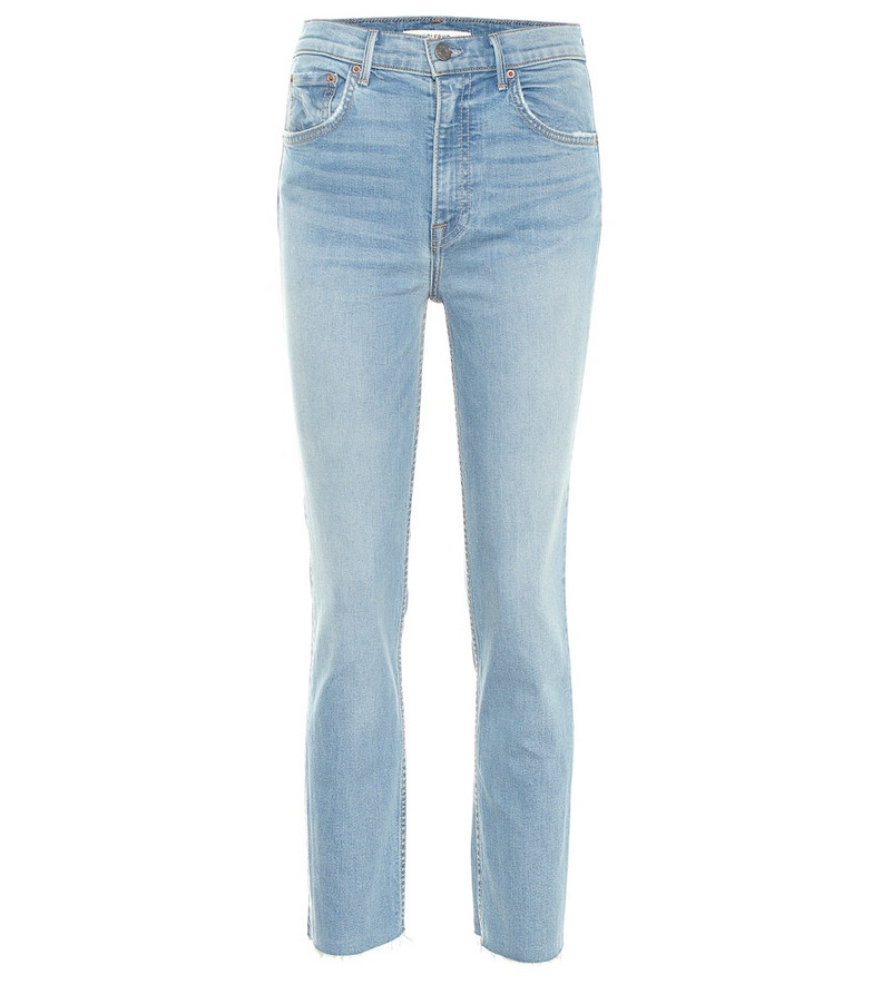 Grlfrnd The Reed high-rise skinny jeans in blue