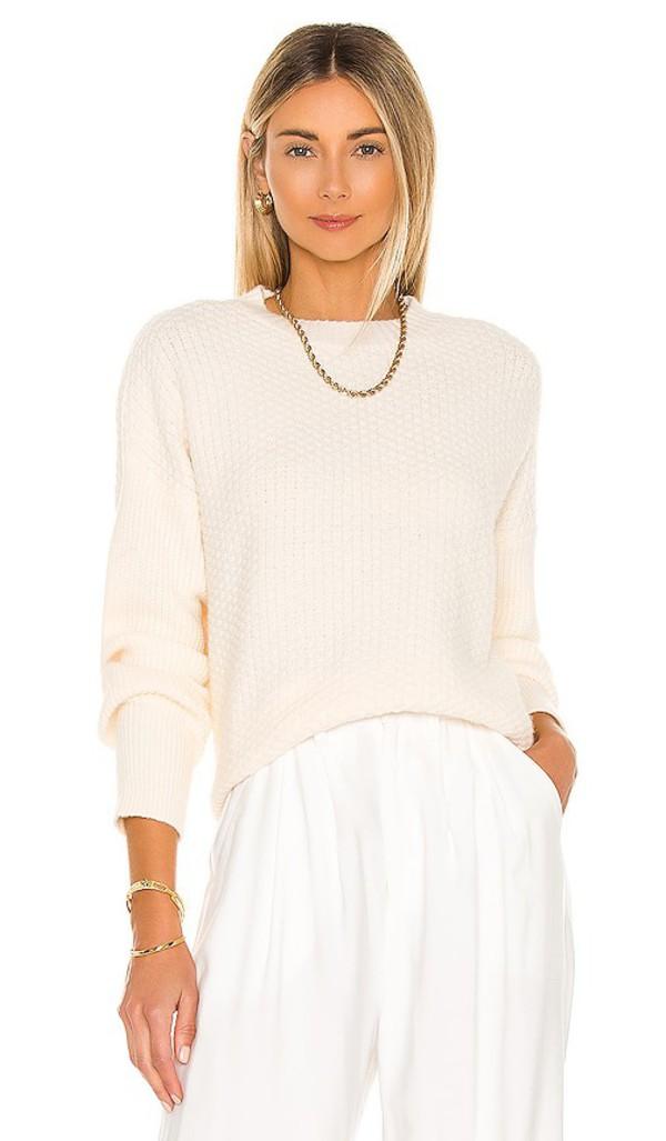 Lovers + Friends Lovers + Friends Kaitlyn Sweater in Cream