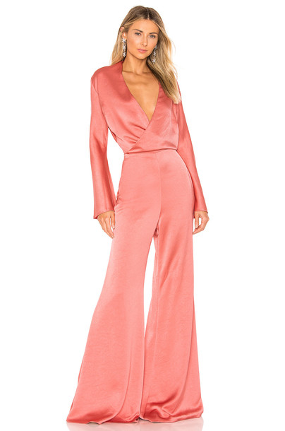 Alexis Raine Jumpsuit in pink