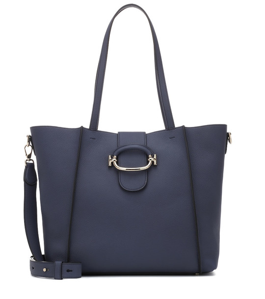 Tod's Shopping leather tote in blue